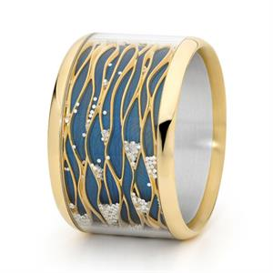 "The international award winning ""Undulation"" bangle"