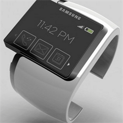 This Samsung Smartwatch render has been making rounds since 2009. Now that smartwatches are a reality, questions arise about whether they threaten the traditional watch industry