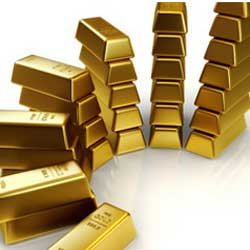 The report predicts the price of gold has begun its steady decline