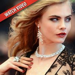 Cannes is a glamorous event where luxury brands like Chopard adorn starlets with house jewellery