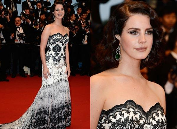 Lara Del Rey at Cannes 2013 wearing Chopard jewellery