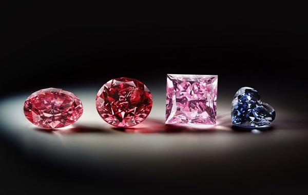 The rest of the fancy coloured diamonds from Rio Tinto