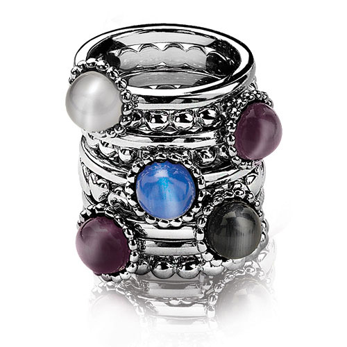 Zinzi's stackable rings