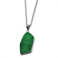 Made in Earth Creations Uvarovite pendant