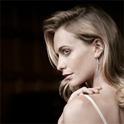 Thomas Sabo brand ambassador Poppy Delevingne modelling an ear cuff from the range