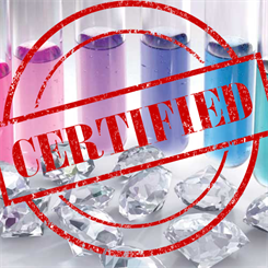The certificate will clearly state that the diamond has been lab-grown
