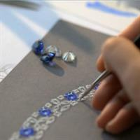 Graff Diamonds designs a timeless diamond and sapphire necklace