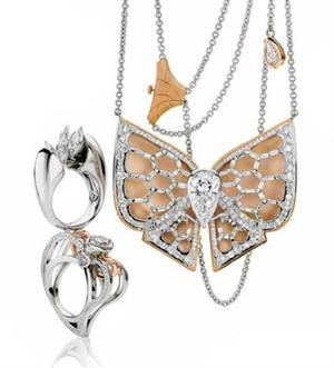 Jewellery pieces selected as finalists in the Fancy Shape category