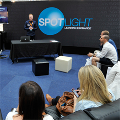 Experts will be available for private discussions before and after their spotlight presentations
