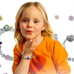 Children's jewellery is gaining prominence