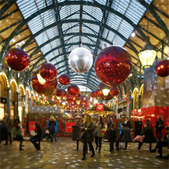 Christmas trade was said to be better than expected in 2013
