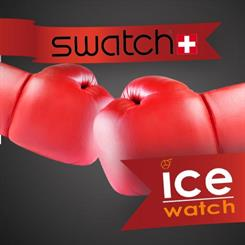 Is the pronunciation of Ice-Watch and Swatch too similar?