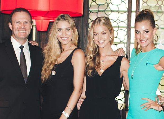 L to R: Phil Edwards, Demi Jewel Bryant, Renae Ayris, Laura Dundovic