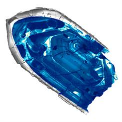 The zircon was found in Jack Hills, Western Australia. Image courtesy of John Valley