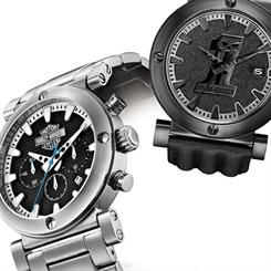 Bulova's range of Harley Davidson watches has been launched in Australia