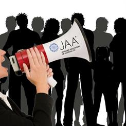 The JAA is calling for member input on what should be discussed at the first council meeting