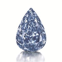 The Blue, the world's largest flawless vivid blue diamond