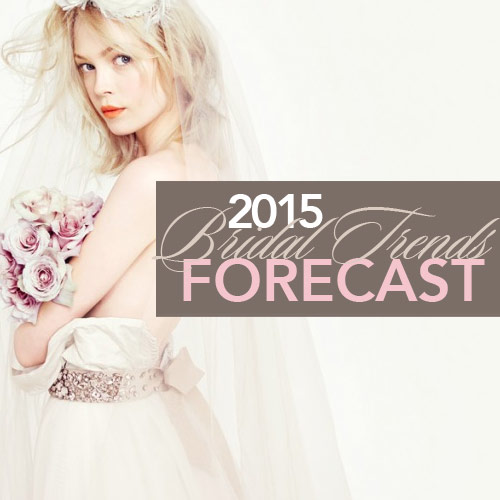 Swarovski Gems' latest publication forecasts trends for the bridal category. Image: J.Crew Bridal
