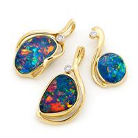 Opal pendants from Opals Australia