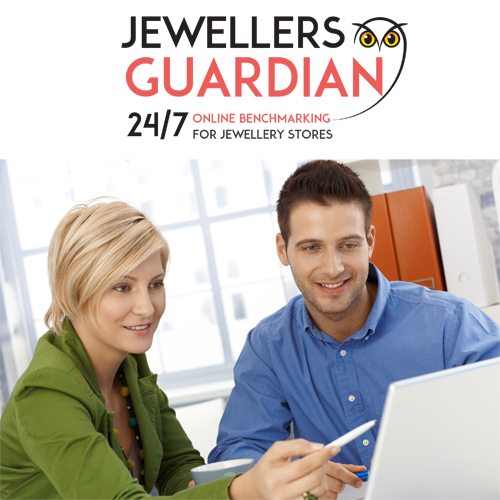 The web-based Jewellers Guardian is available 24/7 to compare store data