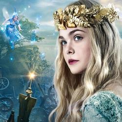 Elle Fanning plays Princess Aurora in Maleficent