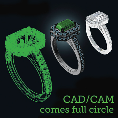 CADCAM comes full circle Jeweller Magazine Jewellery News and Trends