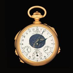 The Henry Graves Supercomplication watch is expected to sell for more than $17.9 m