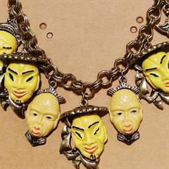 "Topshop pulled this ""yellow face"" design from shelves due to racism complaints. Source: SCMP"