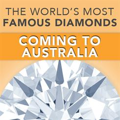 The World's Famous Diamonds exhibition will be on show at this year's jewellery fair