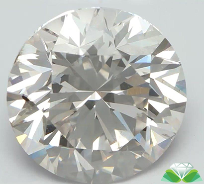 The 3-carat diamond is said to be the largest lab-created diamond in the world