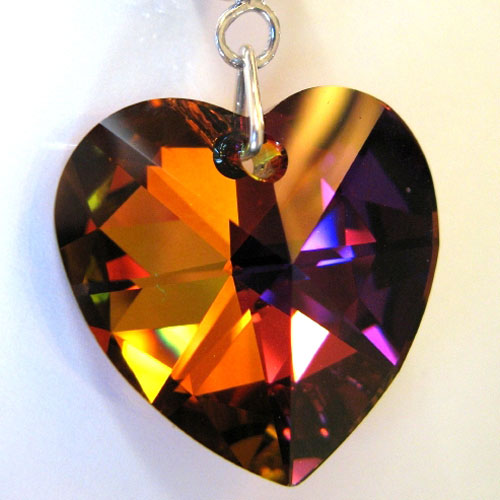 A Swarovski Crystal Cathedral pendant