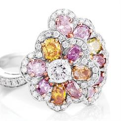 Lost River Diamonds' new Gemini Collection features coloured diamonds in one-off pieces