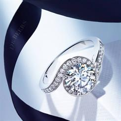 Global sales for diamond jewellery reached a record high in 2013