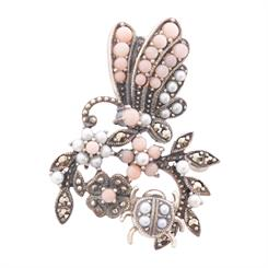 SJ Jewels' butterfly brooch