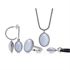Pandora's new chalcedony gem-set jewellery