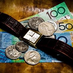 The strengthening Australian dollar is pushing local consumers to buy branded watch and jewellery overseas for much lower prices
