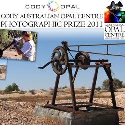 The inaugural Cody Australian Opal Centre Photographic Prize will boost the image of opal, Australia's national gemstone,