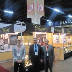 Steve Der Bedrossian with his father, Sam and Classique's US distributor, Bob Guidara