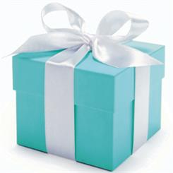 Tiffany & Co's iconic little blue box