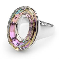 Cotton & Co's new 'Light Vitral Atrium Oval Ring'