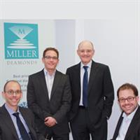 The Miller Diamonds family - Glenn, Craig, Des and Lonn Miller