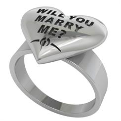 Wilshi's Proposal ring - for men that don't want to risk buying the wrong ring