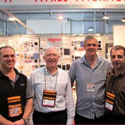 The Ayres Team: (L to R) Paul Chaston, Roger Kennington, Steve Hopkins, John Zeppieri