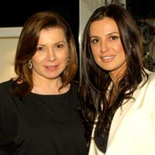 Gina Kougias (left) and Georgini national sales manager Marissa Gouras