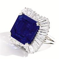 The Kashmir sapphire