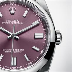 Rolex's Oyster Perpetual was one of the models that had been virtually replicated