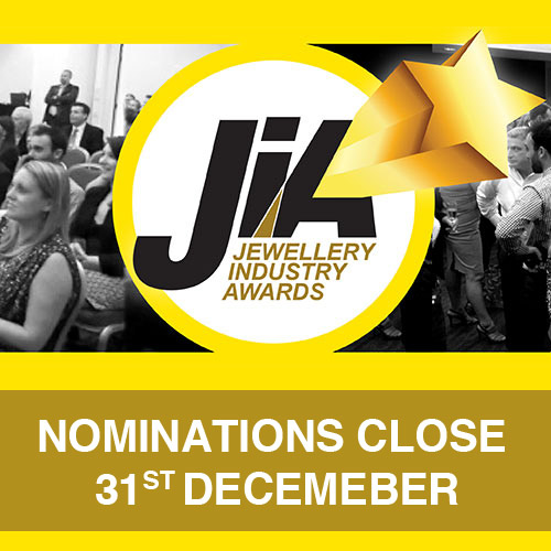Nominations for the Jewellery Industry Awards will close soon