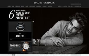 Luxury jewellery brand David Yurman was the highest ranked