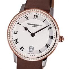 The Slimline ladies timepiece, new from Frederique Constant