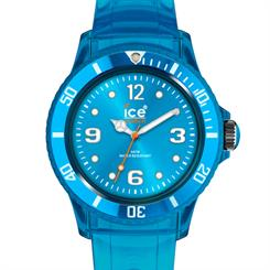 Available in a variety of colours, pictured here is the Turquoise Ice-Jelly watch